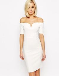 Облегающее платье с открытыми плечами Vero Moda