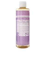 Органическое кастильское жидкое мыло с экстрактом лаванды Dr. Bronner