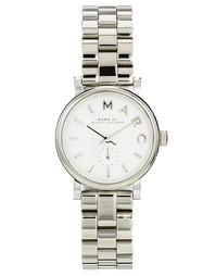Серебристые часы Marc Jacobs Baker MBM3246