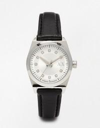 Часы с кожаным ремешком Armani Exchange Miss Jackson - Черный