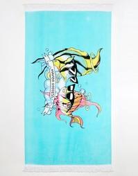 Полотенце с принтом рыбы-ангела Mambo X Emma Mulholland - Мульти