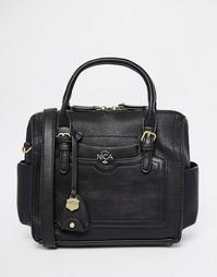 Маленькая сумка-боулер Nica - Черный