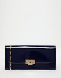Лакированная сумка-клатч Dune - Midnyt