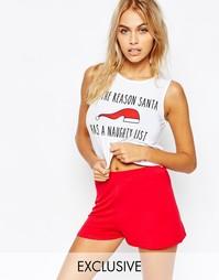 Рождественский подарочный комплект с топом и шортами Adolescent Clothi