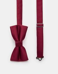 Однотонный галстук‑бабочка Noose & Monkey - Красный