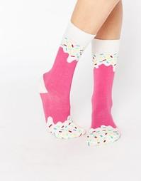 Носки клубничное мороженое DOIY - Мульти