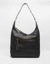 Кожаная сумка на плечо Ruby Rocks - Черный