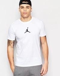 Футболка с логотипом Nike Jordan 612198-100 - Белый