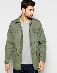 Куртка в стиле милитари цвета хаки ASOS M65 - Хаки