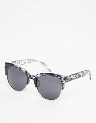 Серые солнцезащитные очки в стиле ретро AJ Morgan - Серый