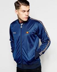 Спортивная куртка-пилот с логотипом Ellesse - Темно-синий