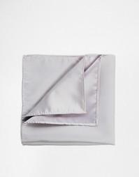 Серый платок для нагрудного кармана ASOS - Серый