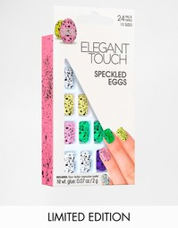 Набор наклеек для ногтей Speckled Eggs Elegant Touch Limited Edition