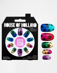 Накладные ногти House Of Holland By Elegant Touch - Glitter Stars