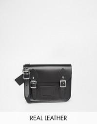 Маленькая сумка‑сэтчел The Leather Satchel Company - Черный