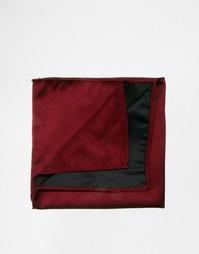 Бордовый платок для нагрудного кармана ASOS - Burgundy