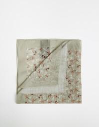 Платок для нагрудного кармана с цветочным принтом Paul Smith - Зеленый