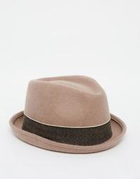 Шляпа-поркпай Esprit - Коричневый