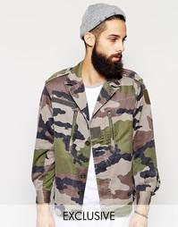 Камуфляжная куртка Reclaimed Vintage - Камуфляжный