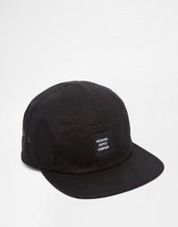 5-панельная кепка Herschel Supply Co Glendale - Черный