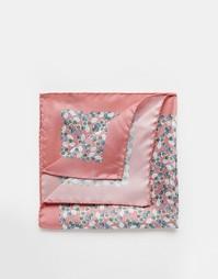 Шелковый платок для нагрудного кармана Ted Baker - Розовый