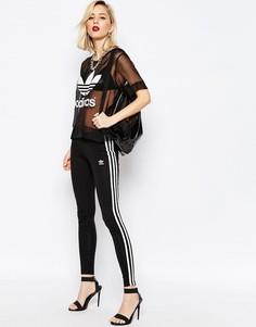 Леггинсы с 3 полосками Аdidas Originals Adicolour - Черный Adidas