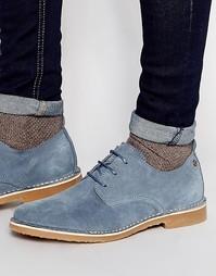 Замшевые туфли Jack & Jones Gobi - Синий