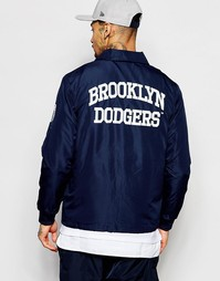 Спортивная куртка Majestic Brooklyn Dodgers - Темно-синий