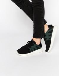 Черные кроссовки adidas Originals Tubular Viral - Черный