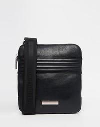 Кожаная сумка Tommy Hilfiger - Черный
