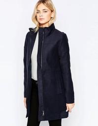 Куртка на молнии с высоким воротом JDY - Темно-синий