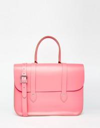 Сумка-тоут The Leather Satchel Company - Baby pink