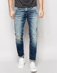 Узкие джинсы Selected - Синий