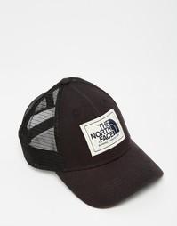 Кепка-бейсболка с логотипом The North Face Mudder - Черный