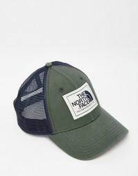 Кепка-бейсболка с логотипом The North Face Mudder - Зеленый
