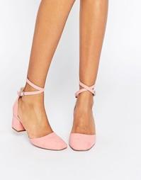 Туфли на каблуке ASOS SIGHTING - Розовый