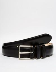 Классический кожаный ремень Paul Smith - Черный