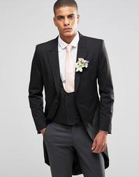 Стретчевый пиджак зауженного кроя Selected Homme Morning Wedding