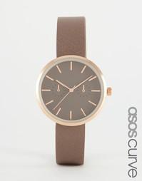 Элегантные часы в золотисто-розовой гамме ASOS CURVE - Mink