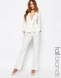 Строгие брюки Vero Moda Tall - Белый