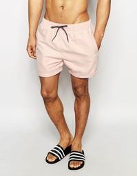 Классические шорты для плавания Selected Homme - Розовый