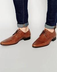 Кожаные туфли дерби ASOS - Светло-коричневая кожа