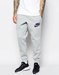 a61a8730 Серые спортивные брюки зауженного кроя Nike AW77 727369-063 - Серый
