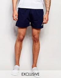 Трикотажные шорты в стиле ретро Ellesse - Выходной синий
