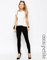 Черные джинсы ASOS PETITE 'Sculpt Me' Premium - Черный