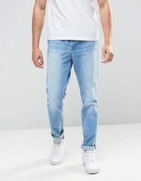 Суженные книзу джинсы в стиле Kubban 90 - Синий