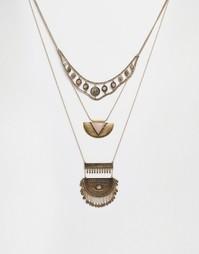 Ожерелье в несколько рядов ALDO Droalian - Золотой