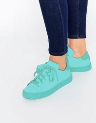 Мятные кроссовки adidas Originals Court Vantage Super Colour Shock