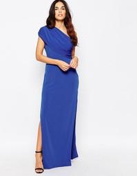Платье макси на одно плечо Hedonia Willow - Синий