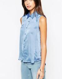Рубашка без рукавов Glamorous - Васильковый синий